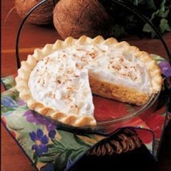 Photo of Quick Coconut Cream Pie by Betty  Claycomb
