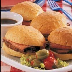 Photo of Sirloin Sandwiches by Judi  Messina
