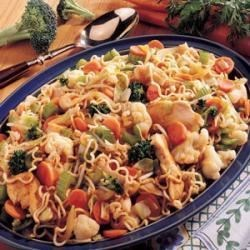 Photo of Chicken Noodle Stir-Fry by Darlene Markel