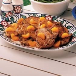 Orange-Topped Chops