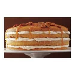 Photo of Luscious Four-Layer PHILLY Pumpkin Cake by Philadelphia