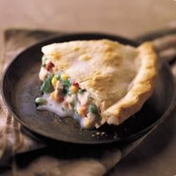 Deep Dish Chicken Pot Pie Recipe