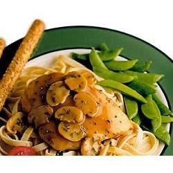 Chicken Marsala with Basil and Mushroom Recipe