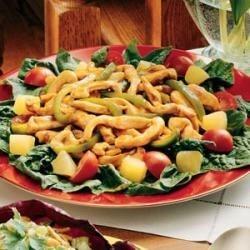 Photo of Stir-Fry Spinach Salad by Victoria  Schreur