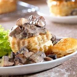 Photo of Wild Mushroom Ragout in Puff Pastry Shells by Campbell's Kitchen