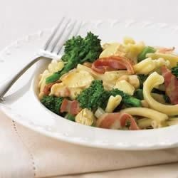 Pasta with Greens and Sir Laurier Recipe