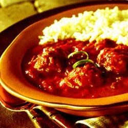 Meatballs in Chile Sauce Recipe