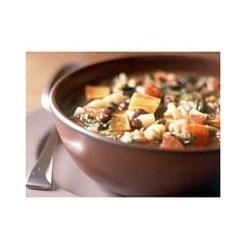Hearty Beef, Pasta, and Spinach Minestrone Recipe