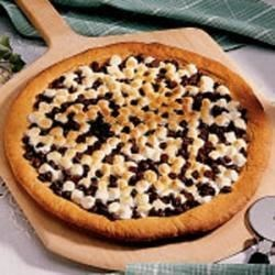 Photo of Chocolate Peanut Butter Pizza by Bernice  Arnett