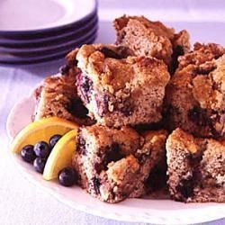 Photo of New England Blueberry Coffee Cake by Audrey  Thibodeau