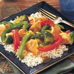 Photo of Orange Chicken and Vegetable Stir-Fry by Swanson®