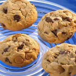 Photo of Reese's® Double Peanut Butter and Milk Chocolate Chip Cookies by Hershey's Kitchens