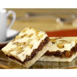 Photo of Layered Cheesecake Bars by EAGLE BRAND®