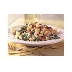 Pasta with Asiago Cheese and Spinach Recipe