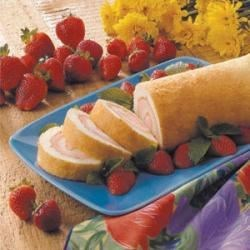 Photo of Angel Food Cake Roll by Joan  Colbert