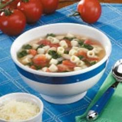 Photo of Pasta Bean Soup by Barb Swatz