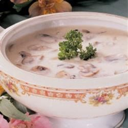 Photo of Cream of Mushroom Soup by Anne  Kulick
