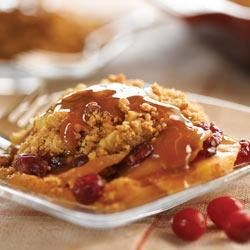 Apple Cranberry Peanut Butter Crisp Recipe