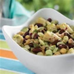 Simply Fresh Bean Salad Recipe