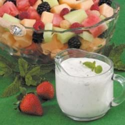 Photo of Mint Dressing For Fruit by Diane  Thompson