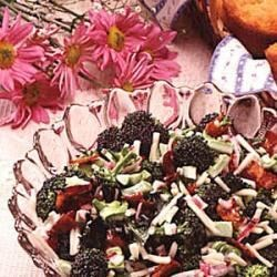 Photo of Tossed Broccoli Salad by Nina  Pitcl