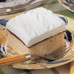 Photo of White Chocolate Fudge Cake by Denise  VonStein