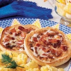 Photo of English Muffins with Bacon Butter by Edna  Hoffman