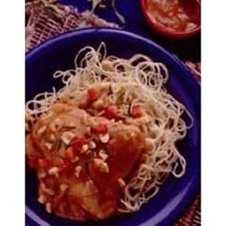 Photo of Peanut Butter-Chili Chicken by Betty Crocker®