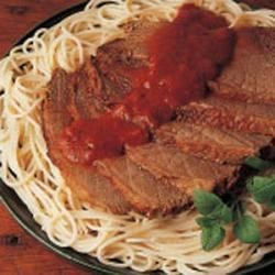 Photo of Pot Roast with Spaghetti by Ellen  Cote