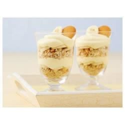 Easy Banana Pudding Parfaits