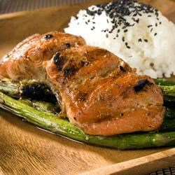 Grilled Soy Salmon Recipe