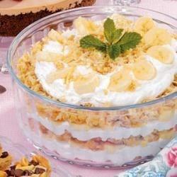 Photo of Banana Macaroon Trifle by Barbara  Keith