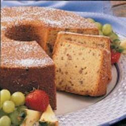 Caramel Pecan Pound Cake