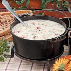 Zippy Potato Soup