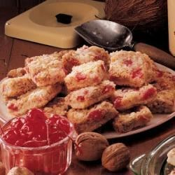 Photo of Cherry Coconut Bars by Marguerite  Emery
