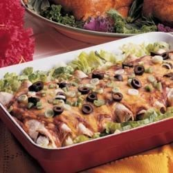 Photo of Chicken Enchiladas by Julie  Moutray