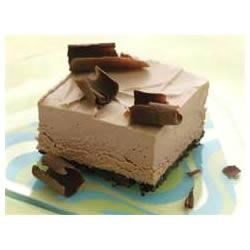 Frozen Chocolate Mousse Squares Recipe