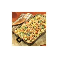 Chicken Pasta and Vegetable Casserole Recipe