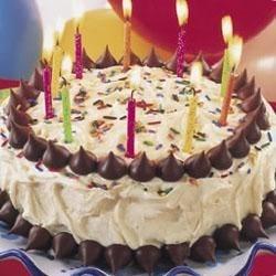 Hershey's (R) Kisses Birthday Cake Recipe