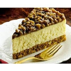 Walnut Praline Cheesecake