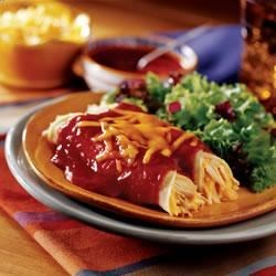 Easy Cheesy Enchiladas Recipe