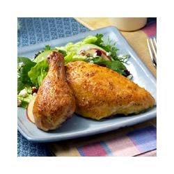 Brined and Roasted Chicken Pieces Recipe