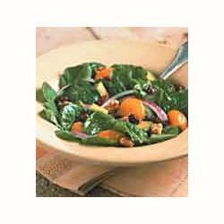 Photo of Classic Spinach Salad with Pesto Vinaigrette by NAKANO®