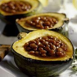 BUSH'S(R) Vegetarian Barbecued Squash Recipe