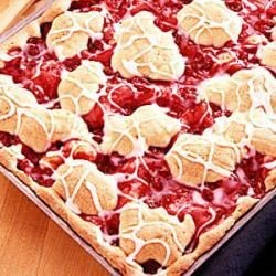 Photo of Cherry Swirl Coffee Cake by Charlene  Griffin