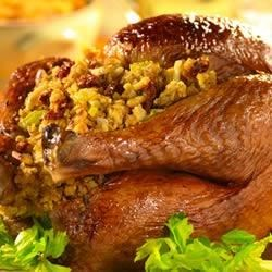 Photo of Turkey and Cornbread Stuffing with Sun-Dried Tomatoes by Campbell's Kitchen