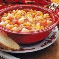 Photo of Tomato Corn Chowder by Sue  McMichael