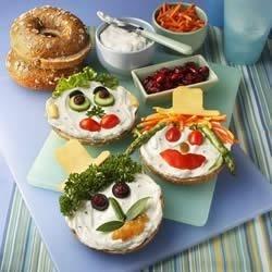 Bagel Smiles Recipe