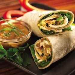 Photo of Thai Peanut Butter Chicken Wraps by Jif®