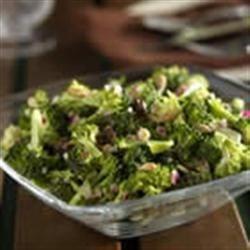Raw Broccoli Salad Recipe